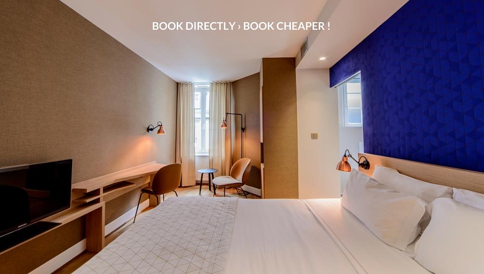 Chambre hotel design Strasbourg - 3 étoiles | Hôtel Hannong